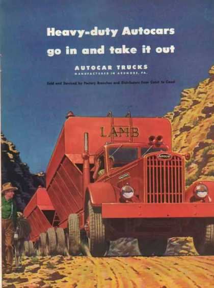 Autocar Trucks – LAMB – Sold (1947)