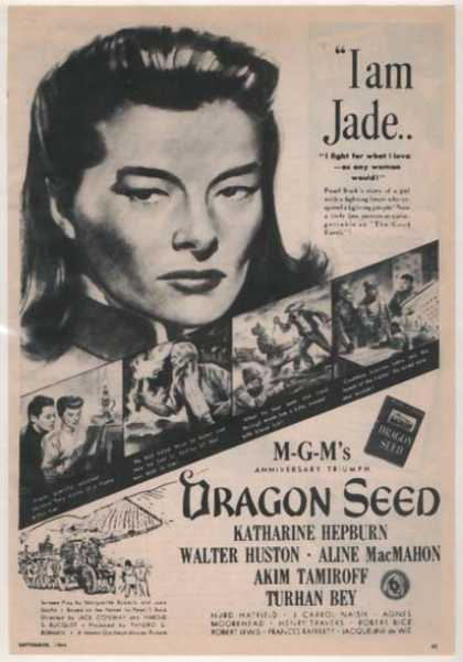 Dragon Seed (Katharine Hepburn and Walter Huston) (1944)
