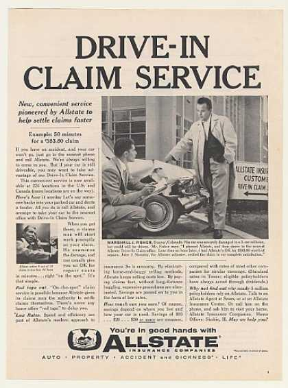 Allstate Insurance Drive-In Claim Service (1960)