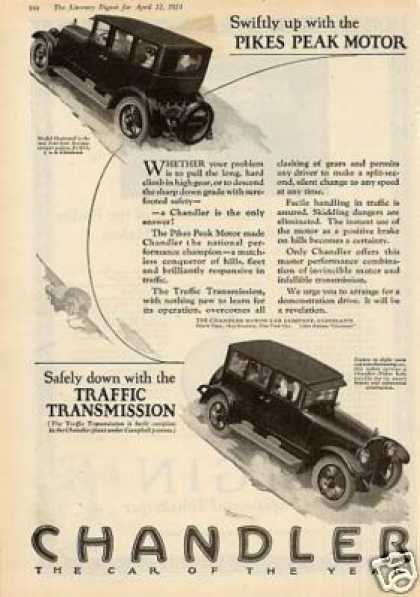 Chandler Cars (1924)
