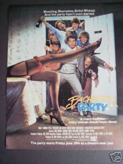 Tom Hanks In Bachelor Party Movie Promo (1984)