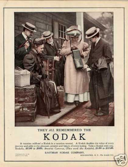 Eastman Kodak Camera Color (1909)