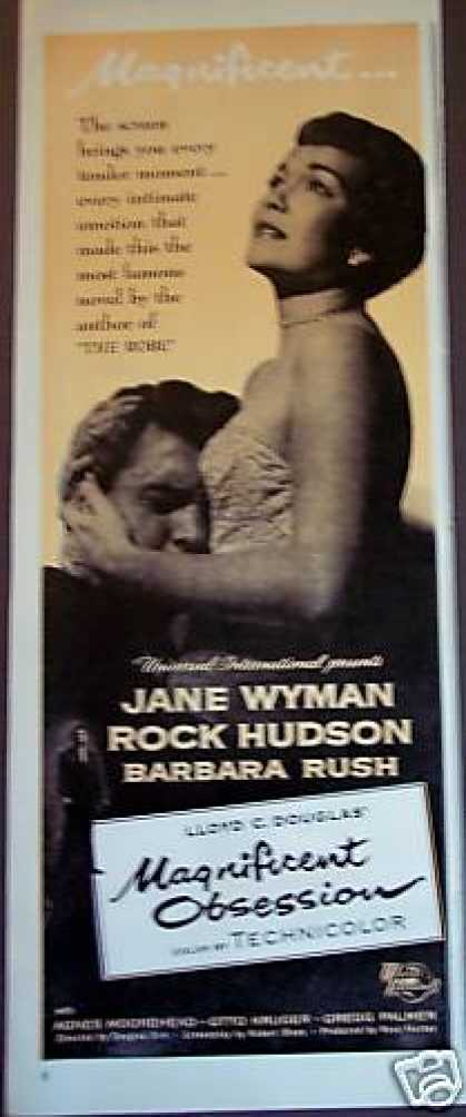 Jane Wyman Rock Hudson Movie Promo (1954)