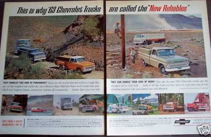 Chevrolet Trucks 'new Reliables' (1963)