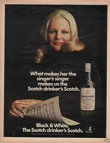 Black White Blended Scotch Whisky (1972)