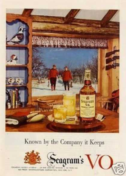 Seagram's Vo Whiskey (1953)