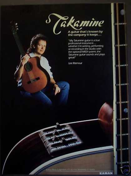Lee Ritenour Takamine Guitar Music (1988)