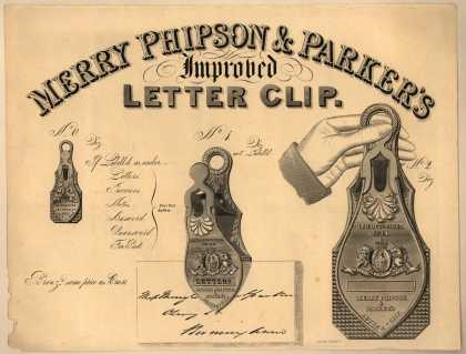 Merry Phipson & Parker's Letter Clip – Improved Letter Clip