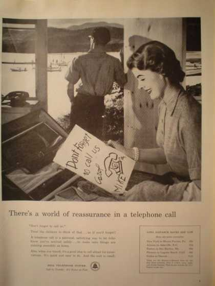 Bell Telephone A world of reassurance (1956)