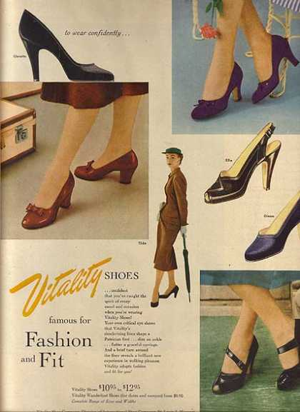 Vitality's Shoes for Ladies (1952)