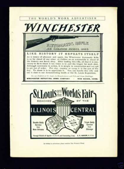 Winchester Automatic Rifle .22 Caliber Model (1904)