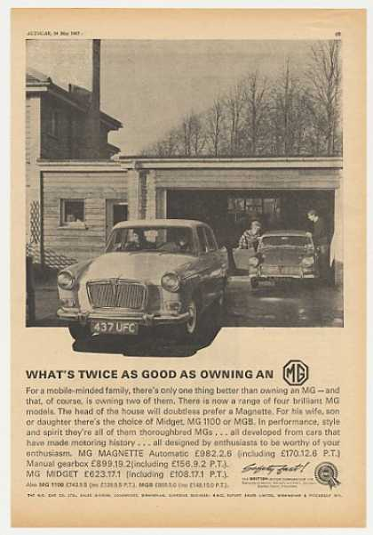 MG Magnette Midget Twice as Good British (1965)