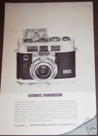 Kodak Motormatic 35f Camera (1963)