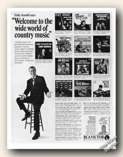 Eddy Arnold Photo Country Music Rca Promo (1966)