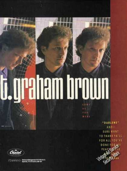 T. Graham Brown Pictures Music Promo (1989)