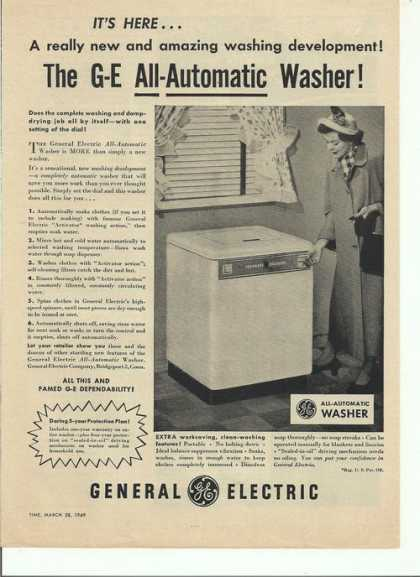 General Electric Automatic Dish Washer (1949)