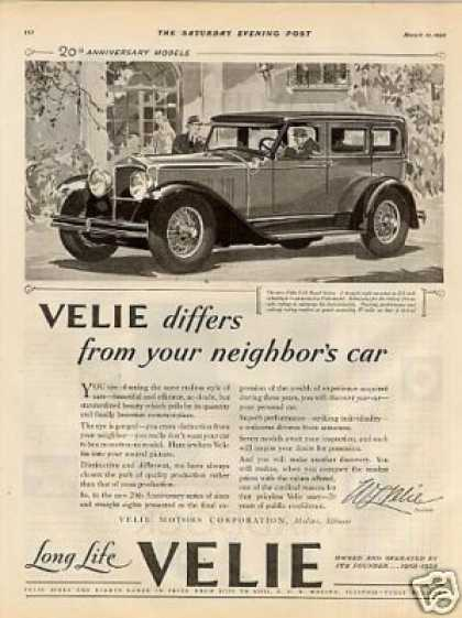 Velie 8-88 Royal Sedan (1928)
