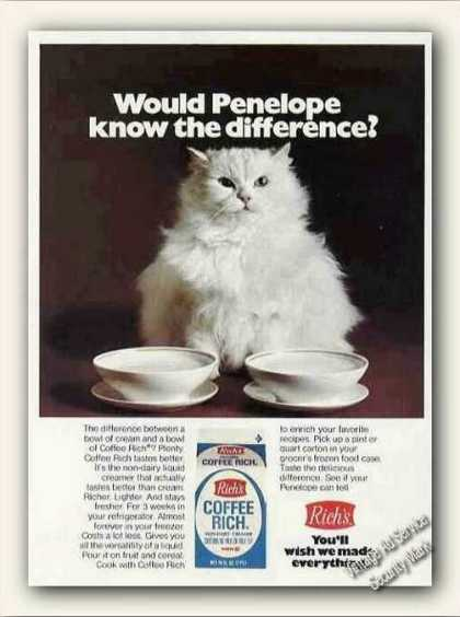 White Cat Photo Rich's Coffee Rich (1973)