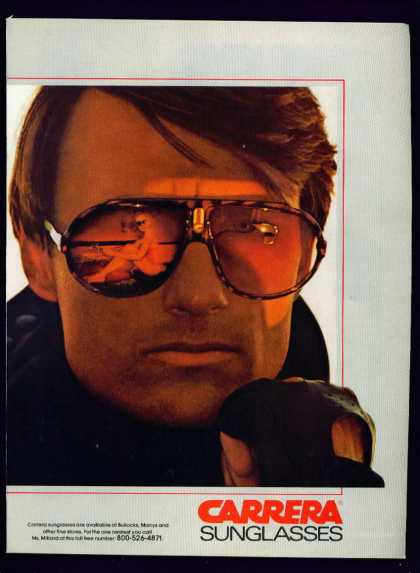 Handsome Man In Carrera Sunglasses C (1982)