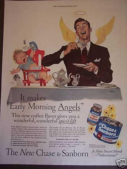 Morning Angels Art By Siebel Chase & Sanborn (1949)