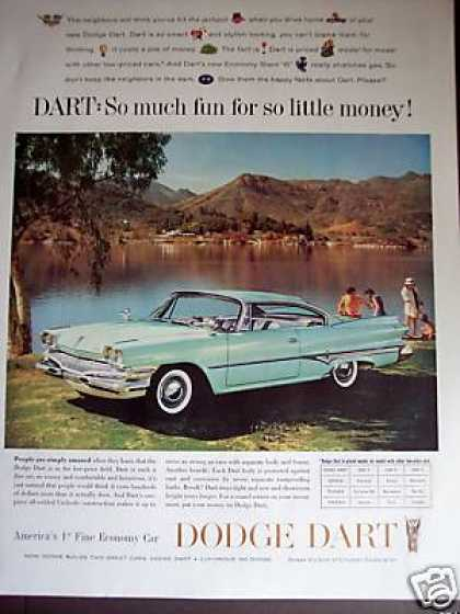 Dodge Dart at the Lake Car Photo (1960)
