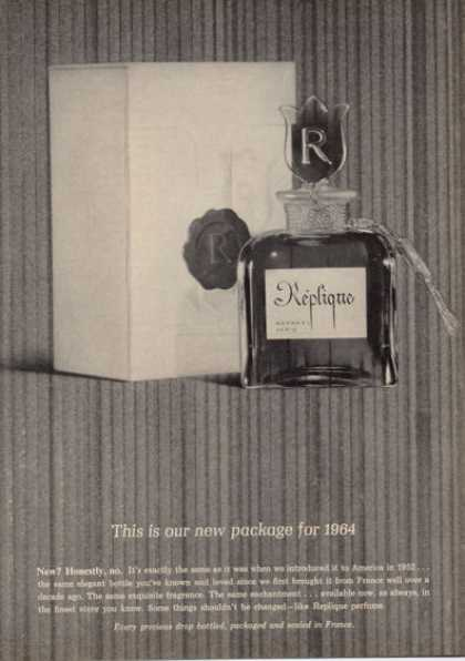 Replique Perfume Bottle (1964)