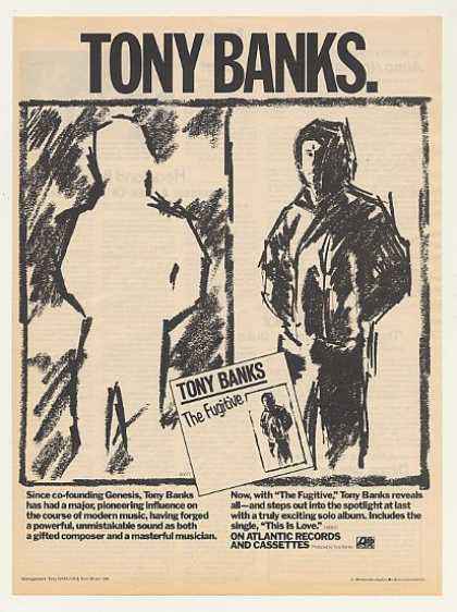 Tony Banks The Fugitive Atlantic Records (1983)
