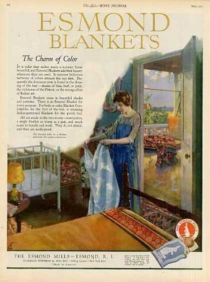 Esmond Blankets Color (1923)