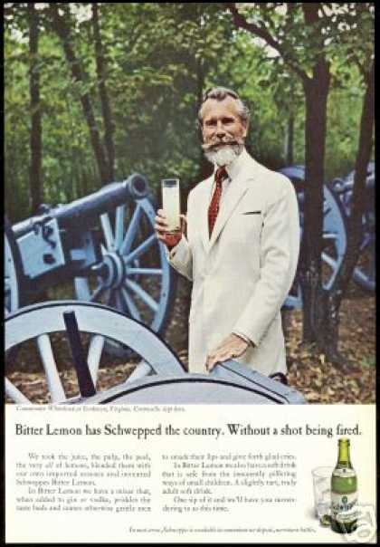 Schweppes Yorktown Virginia Commander Whitehead (1967)