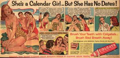 Colgate – She's a Calendar Girl – But She Has No Dates (1957)