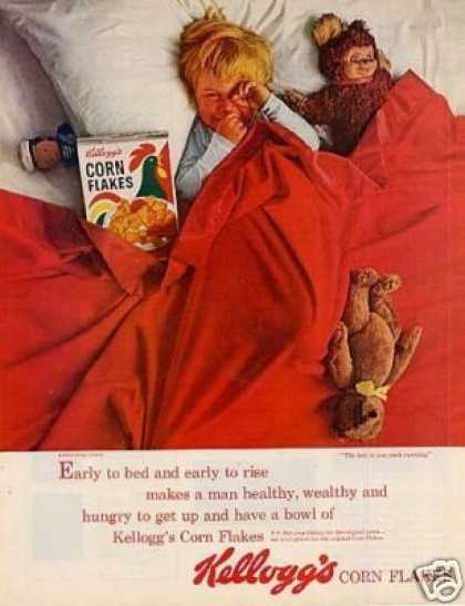 Kellogg's Corn Flakes Cereal (1963)