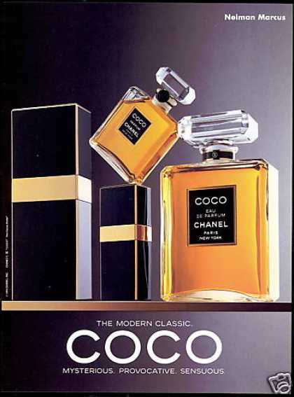 Coco Chanel Perfume Bottles Photo (1991)