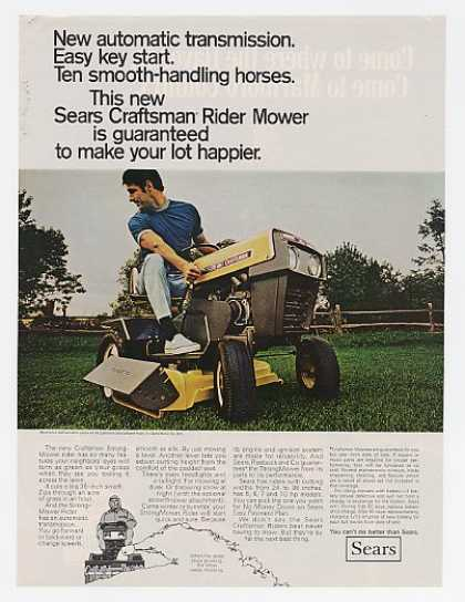 Sears Craftsman StrongMower Rider Mower (1969)