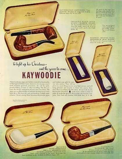 Kaywoodie Pipes (1948)