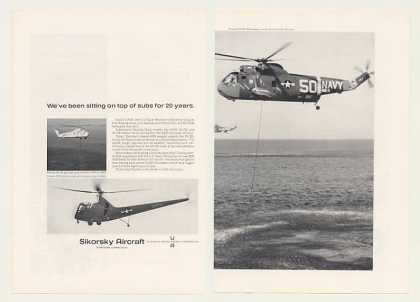 US Navy Sikorsky Aircraft SH-3D Helicopter (1966)