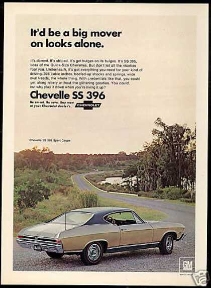 Chevrolet Chevelle SS 396 Sport Coupe Car Photo (1968)