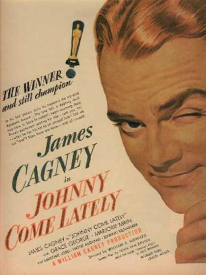 Johnny Come Lately (James Cagney) (1943)