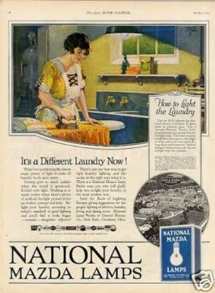 National Mazda Lamps (1923)
