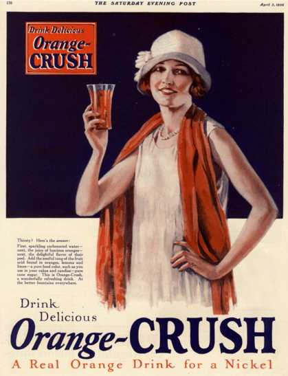 Orange Crush, USA (1920)