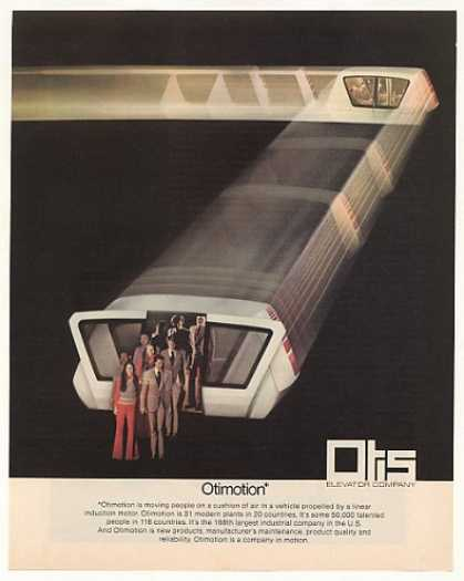 Otis Elevator Co Otimotion People Mover (1973)