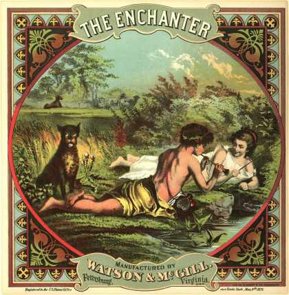 Watson & McGill's Tobacco – The Enchanter (1876)