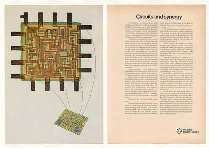 Bell Western Electric Hybrid Integrated Circuit (1970)