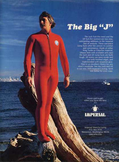 Imperial Bubble Scuba Diver Jack Suit (1979)