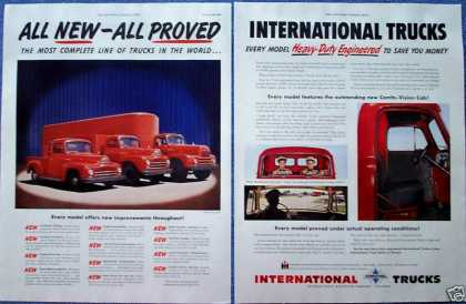 International Truck Heavy Duty Joey Starr Photo (1950)