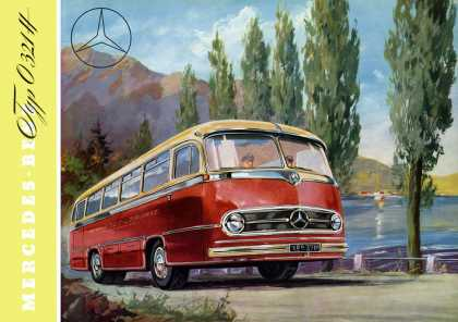 Mercedes-Benz Typ 0321H interurban bus (1956)
