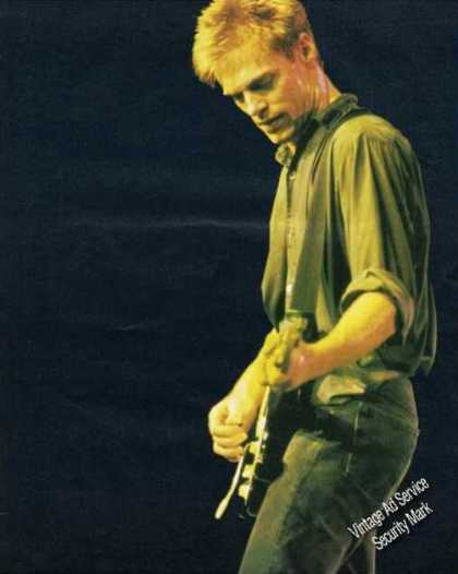 Bryan Adams Large Color Magazine Photo (1988)