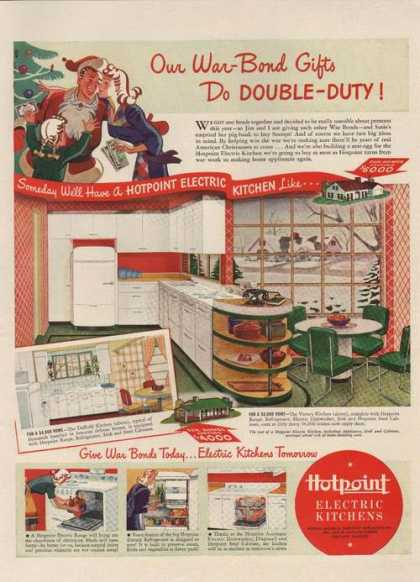 Hotpoint Electric Kitchen Appliances (1942)