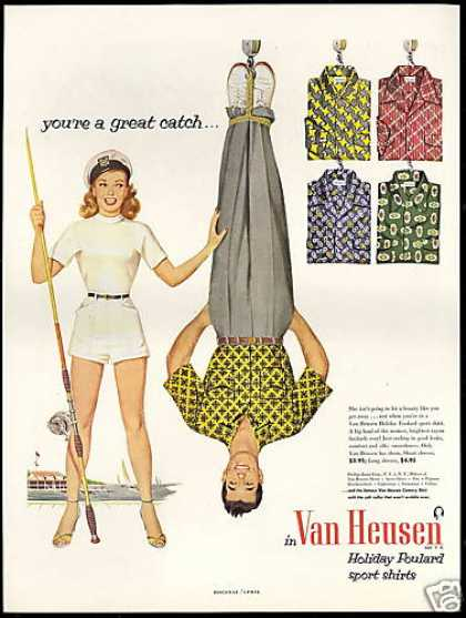 Van Heusen Fashion Shirts Pretty Fisherman (1952)