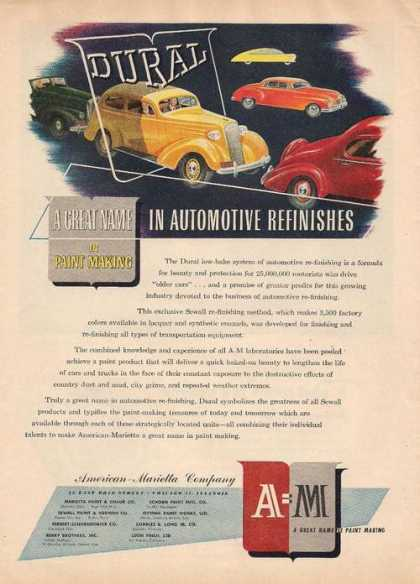 American Marietta Automotive Refinishes (1947)