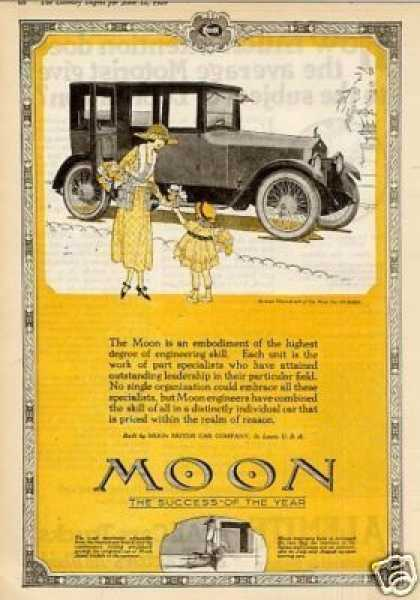 Moon Six-48 Sedan Color (1920)